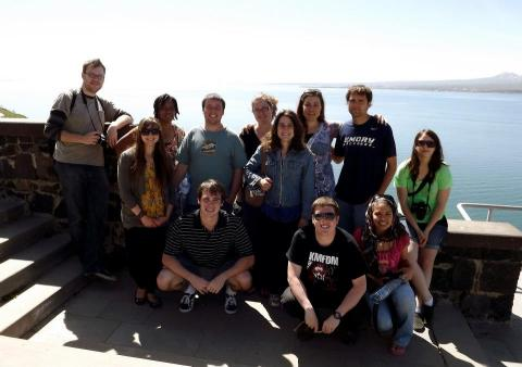 Here's the whole bunch at Lake Sevan